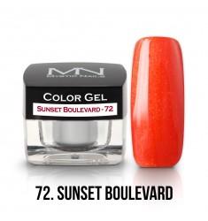 Color Gel -72 Sunset Boulevard