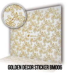 Golden Decor Sticker BM006