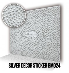 Silver Decor Sticker BM024