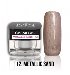 Color Gel - 12 Metallic Sand