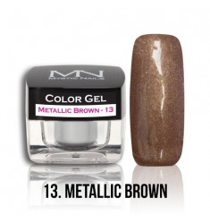 Color Gel - 13 Metallic Brown