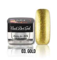Nail Art Gel - 03 Gold