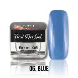 Nail Art Gel - 06 Blue