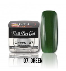 Nail Art Gel - 07 Green