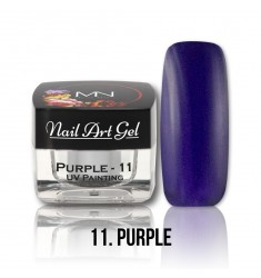 Nail Art Gel - 11 Purple