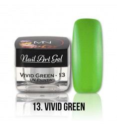 Nail Art Gel - 13 Vivid Green