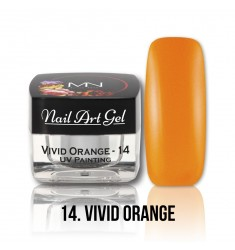 Nail Art Gel - 14 Vivid Orange