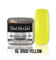Nail Art Gel - 16 Vivid Yellow