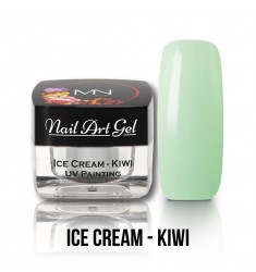 Nail Art Gel - Ice Cream Kiwi