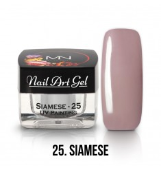 Nail Art Gel - 25 Siamese
