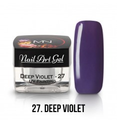 Nail Art Gel - 27 Deep Violet
