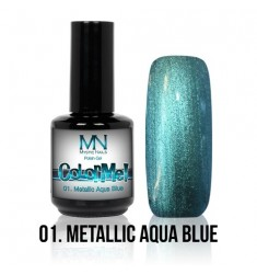 ColorMe! 01 Metallic Aqua Blue 8ml